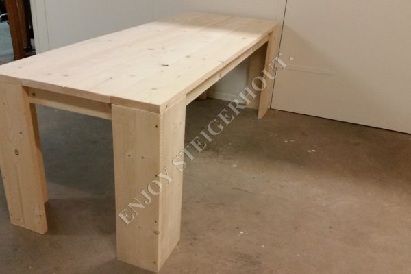 Eettafel BASIC - Enjoy Steigerhout - 1