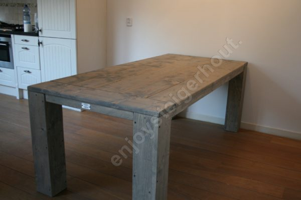 Eettafel SUMMER - Enjoy Steigerhout - 1