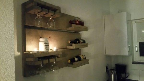 Wijnbord - Enjoy Steigerhout - 1