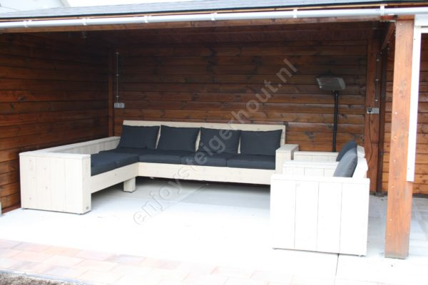Loungebank RELAX - Enjoy Steigerhout - 5
