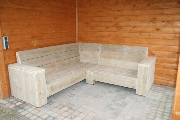 Enjoy Steigerhout - Loungebank model 2018 - 9