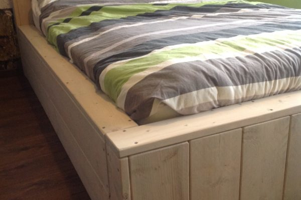 Bed ENJOY 2p - Enjoy Steigerhout - 4