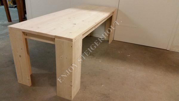 Eettafel BASIC - Enjoy Steigerhout - 1
