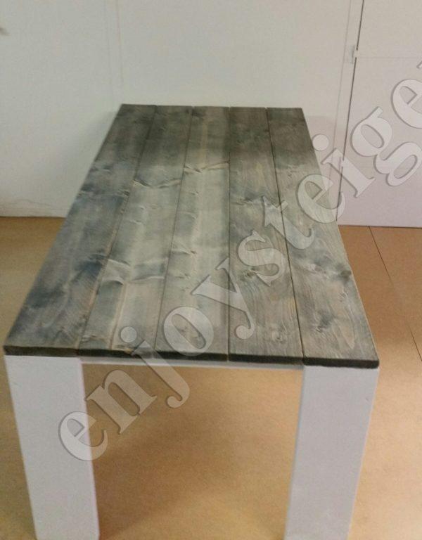 Eettafel BASIC - Enjoy Steigerhout - 2