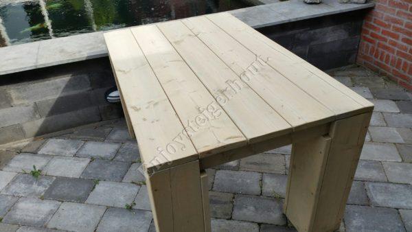 Eettafel BLOKPOOT - Enjoy Steigerhout - 1