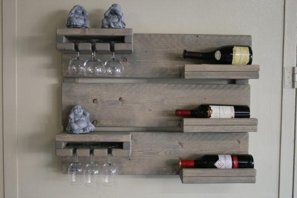 Wijnbord - Enjoy Steigerhout - 2