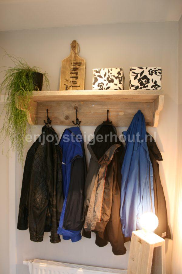 Kapstok SISA - Enjoy Steigerhout -1