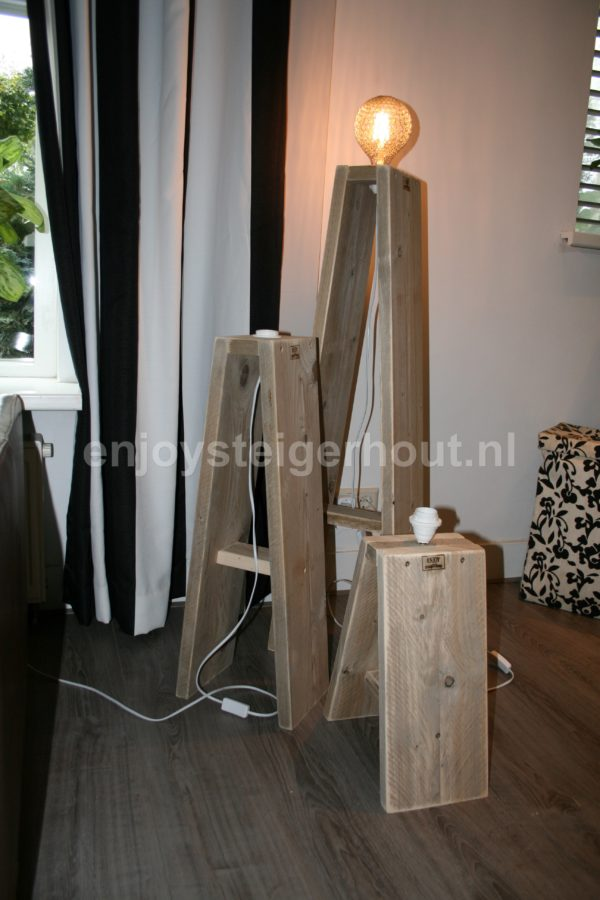 Lamp A - Enjoy Steigerhout - 2