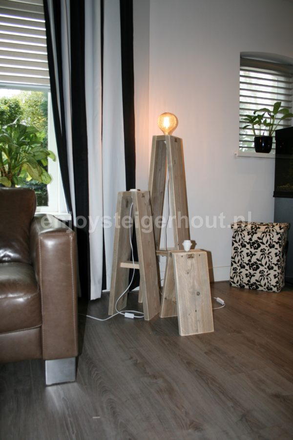 Lamp A - Enjoy Steigerhout - 3