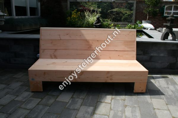Loungebank SUMMER - Enjoy Steigerhout - 12