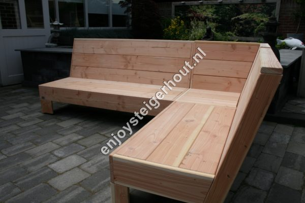 Loungebank SUMMER - Enjoy Steigerhout - 2