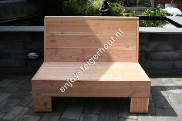 Loungebank SUMMER - Enjoy Steigerhout - 6
