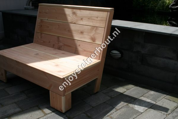 Loungebank SUMMER - Enjoy Steigerhout - 7
