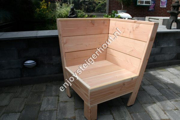 Loungebank SUMMER - Enjoy Steigerhout - 8