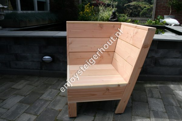 Loungebank SUMMER - Enjoy Steigerhout - 9