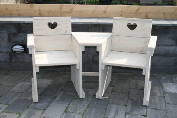 Love seat - Enjoy Steigerhout - 2