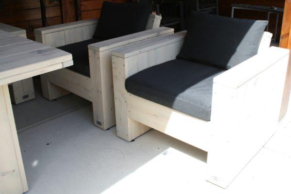 Luxe stoel - Enjoy Steigerhout - 1