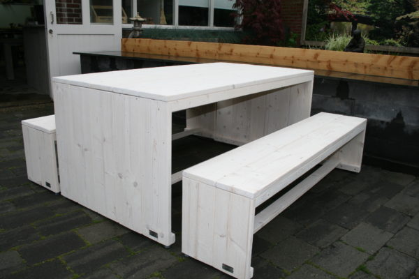 Picknicktafel - Enjoy Steigerhout - 1