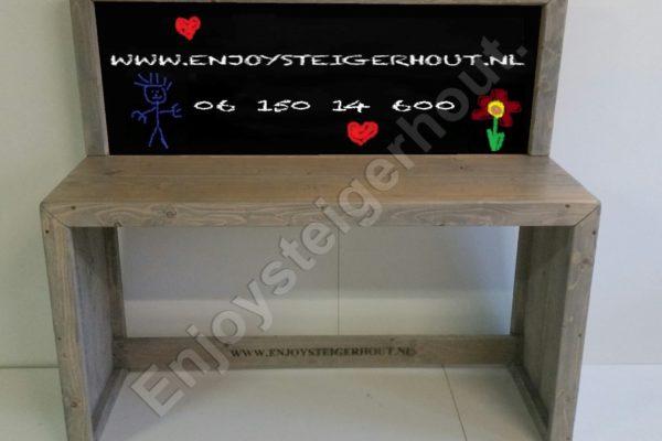 Speeltafel KRIJT - Enjoy Steigerhout - 1