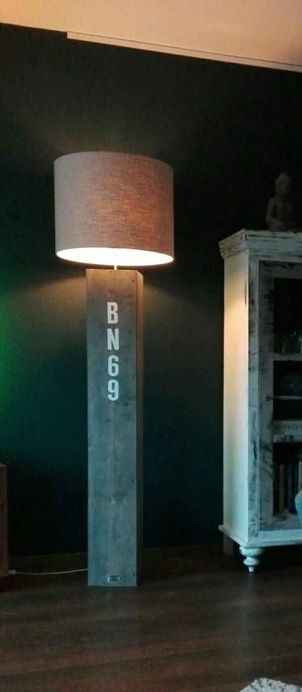 Staande lamp JACK - Enjoy Steigerhout - 5