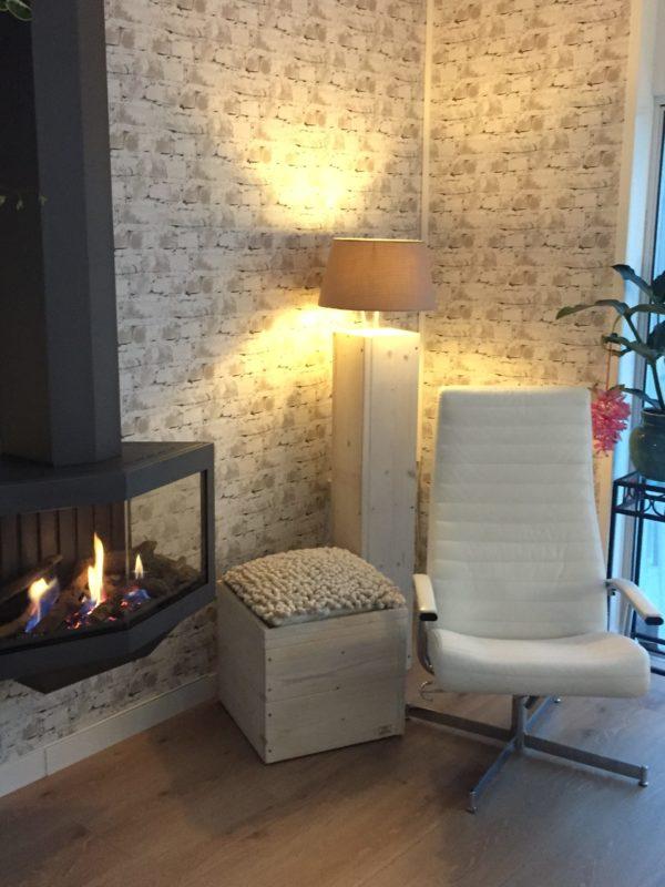 Staande lamp JACK - Enjoy Steigerhout - 9