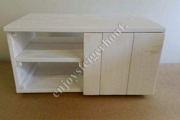 TV meubel klein - Enjoy Steigerhout - 5