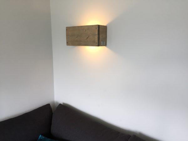 Wandlamp LOENEN - Enjoy Steigerhout - 3