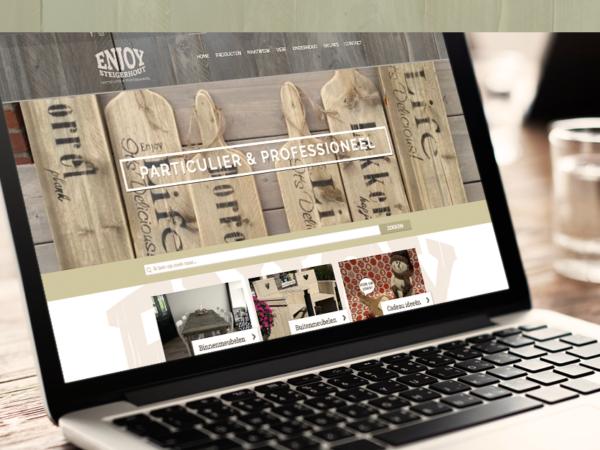 nieuwe website - Enjoy Steigerhout