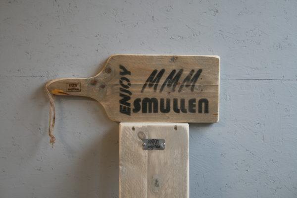 serveerplank 50cm - Enjoy MMM Smullen - Enjoy Steigerhout