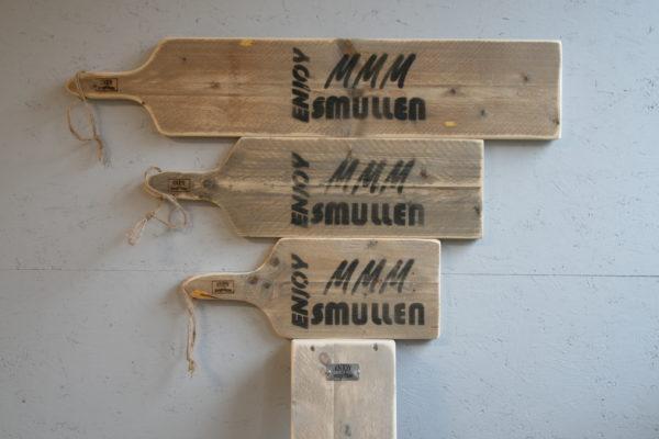 serveerplank alle maten - Enjoy MMM Smullen - Enjoy Steigerhout