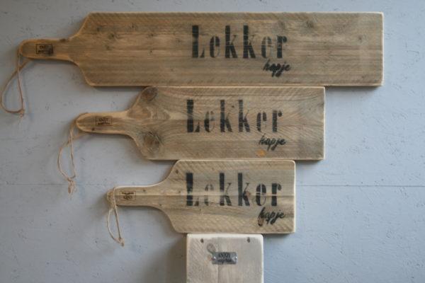 seveerplank alle maten - lekker hapje - Enjoy Steigerhout