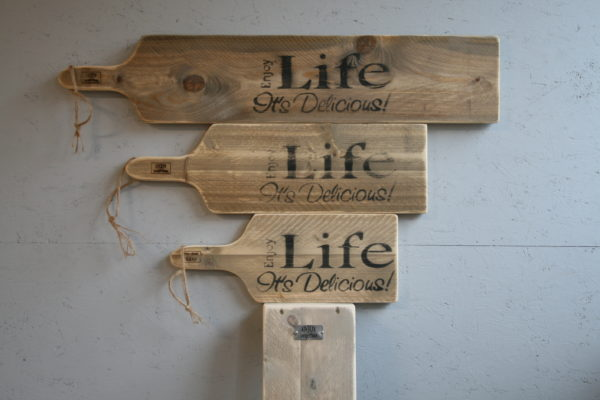 seveerplank alle maten - Enjoy Life its Delicious - Enjoy Steigerhout
