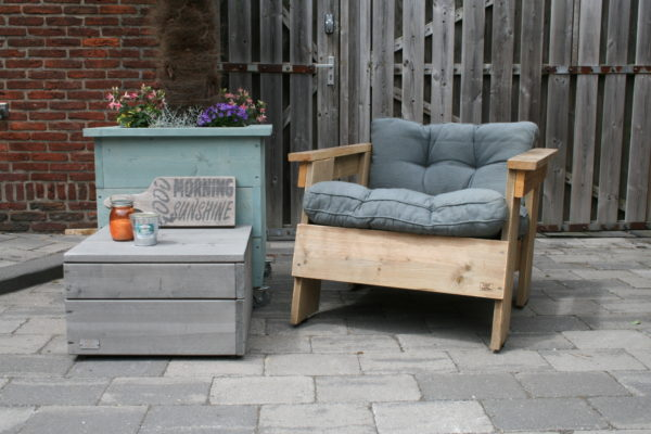 Enjoy Steigerhout - Loungestoel GOOD FEELING (7)