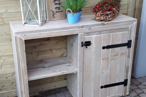 ENJOY STEIGERHOUT - tuin dressoir (1)